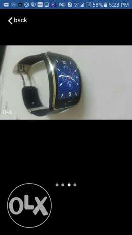 Samsung Gear S excellent condition جير اس ممتازة