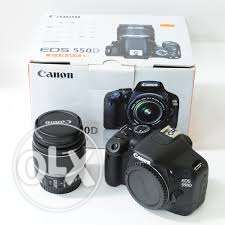 Canon 550D with 18-55 Lens