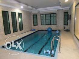 Elegant duplex villa with private swimming pool for rent in mangaf.
