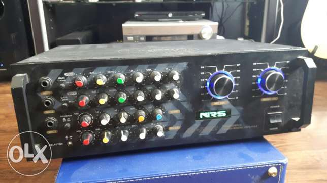 NRS professional stereo amplifier