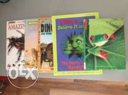 5 children's educational books.