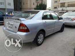 Toyota Corolla 2002 for sale.