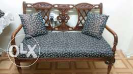 Wooden Sofa For Sale- 3 seater