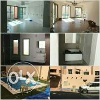 villa for rent at salam 2floors swimming pool with 4room 3ha