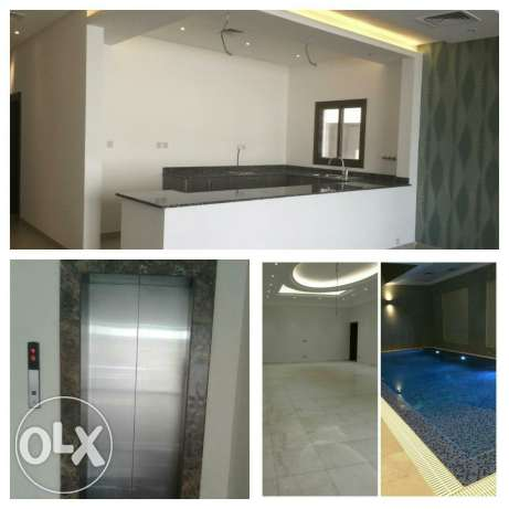Villa for rent at Hiteen 2floors swimming pool bassment & elvitor