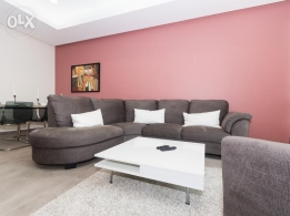 3 BDR furnished apt for expats in Salmiya