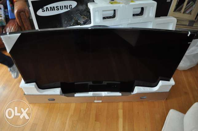 Samsung UHD 4K Led Curved 75 INCH 3D TV