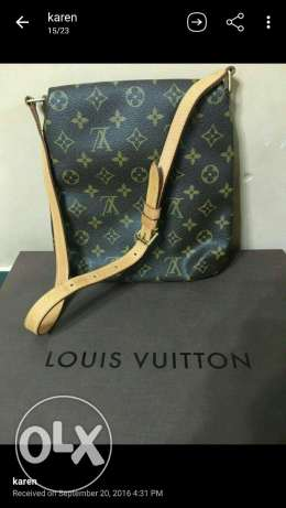 101% Authentic LV Musette salsa.