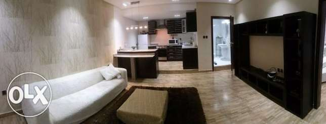 one bedroom fully furnished flat for rent 270 kd