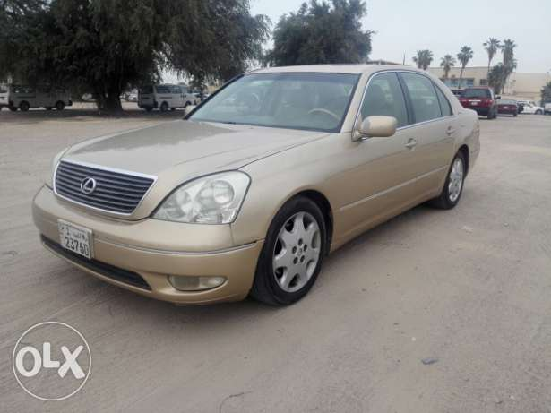 For sale lexus LS 2001 ,good condition full option