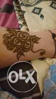 Hina design for order one hand only 3 kd indian design