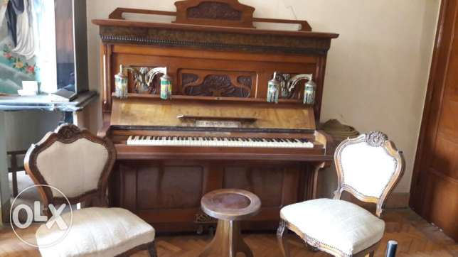Piano from 1840 in Egypt