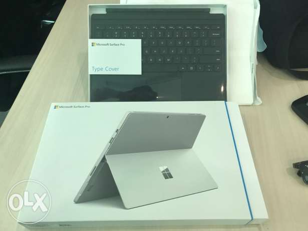 Brand new seal pack surface pro 4 core i7 16gb ram 512gb with keybaord