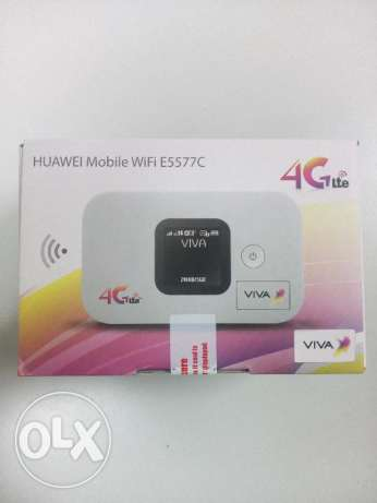 New Huawei wifi e5577c 4G router