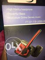 Fujitel headset (gameing)
