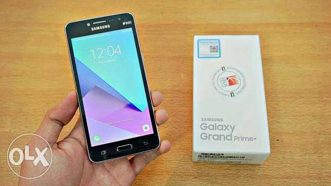 Galaxy grand prime plus black