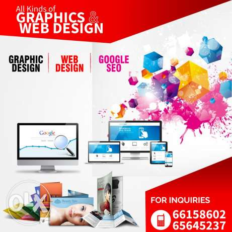 All kinds of Web Graphics & Designing work