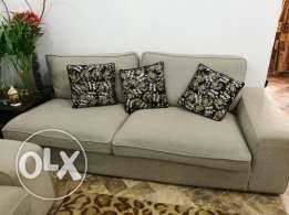IKEA Kivik Sofa Set with Footstool