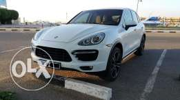 Cayenne Turbo V8, White, excellent condition.