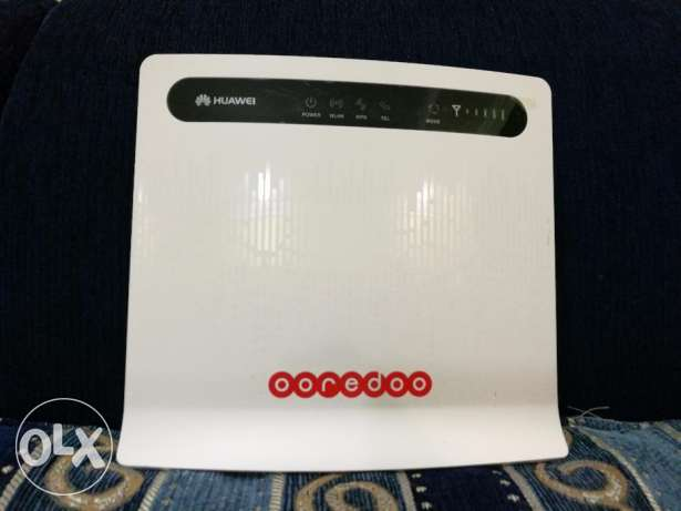 4g lte huawei b593s-22 ooredoo router works all sim