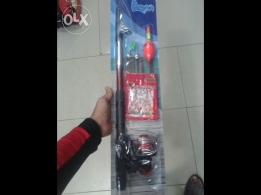 Fishing rod 2 m with every tools for sale
