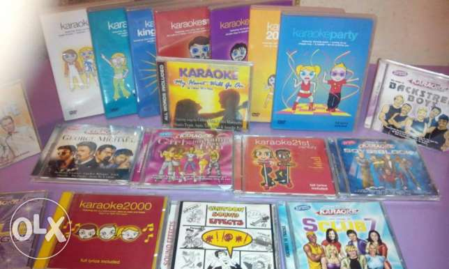 original best karaoke dvd and cd collection.