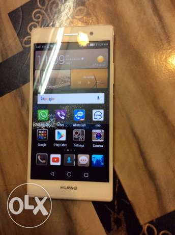 Hauwei p7 mobile for sale only 35 kd good condition no scratches