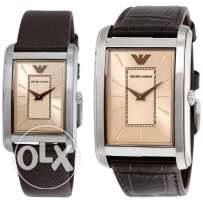 Original Armani Dual Watch Set AR9040