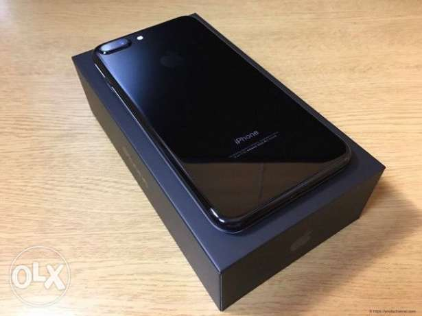 Iphone 7 plus jet black 128gb packed piece