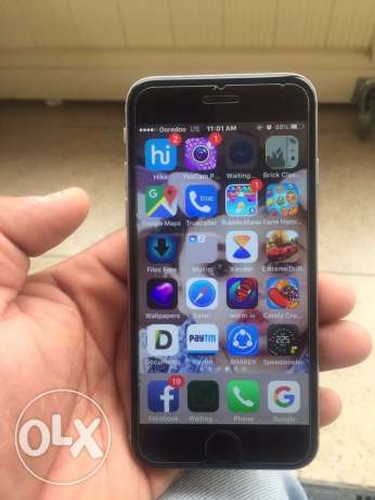 iPhone 6 GB 128 for sale or exchange with Samsung S7edge