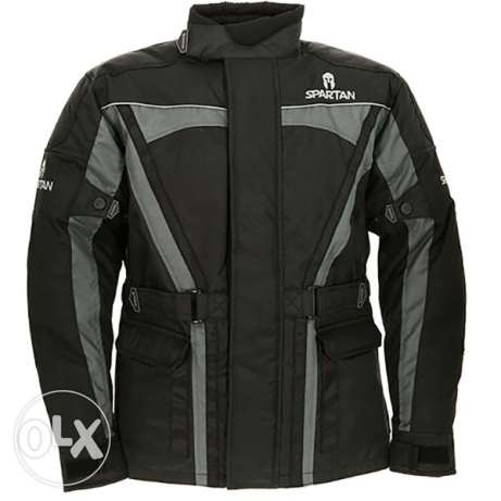 BRAND NEW Spartan textile motorcycle jacket SIZE M