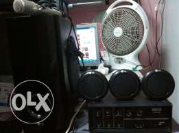 good working speaker & amplifier