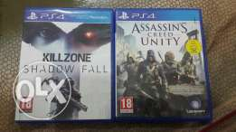 Assasing Creed Unity & Kill zone Shadow Fall for Exchange