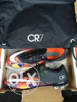 Nike Mercurial Vapor X CR FG (Black/White/TOTAL CRIMSON)
