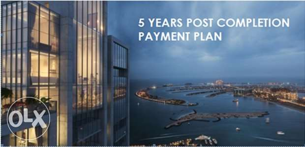 2bedroom dubai marina pay 50% for 5 years after handover