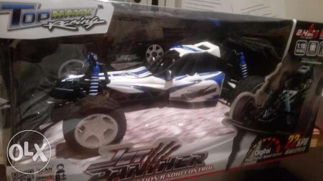 Remote controlled racing car