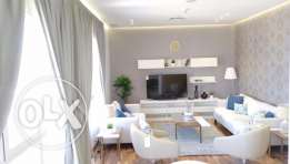 Sea View Furnished Modern apartment in Salmiya, KD 750.