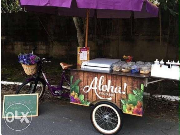 Food Cart & Bike & Partition Desgins . تصمبم و تشغيل