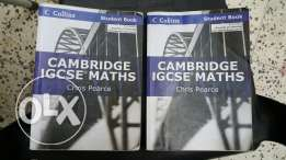 IGCSE maths books