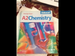 A2 Chemistry book for sale