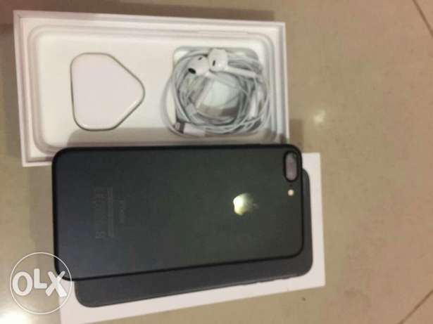 Iphone 7 plus 128 black mate Used 5 days as new Phone Condition 100%