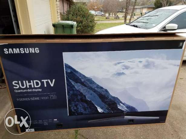 Samsung 75 Inch SUHD Curved Screen TV