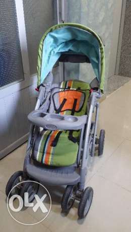 GRACO Baby Stroller + Baby Car Seat