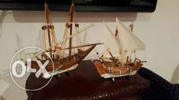 Wooden dhows