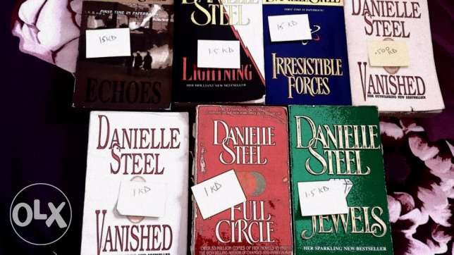 Daniella Steel Books for 1.5kd!! السالمية -  1