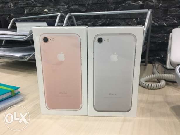 iphone 7 128gb seal pack at lowest price in Kuwait الرحاب -  1