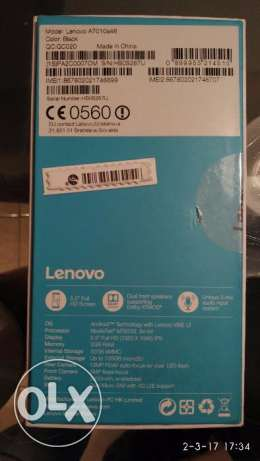 Lenovo Vibe K4 Note - A7010a48 black for sale