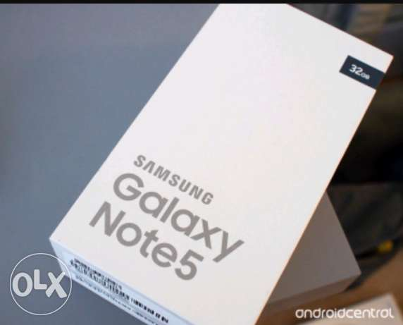 Note 5 brand new
