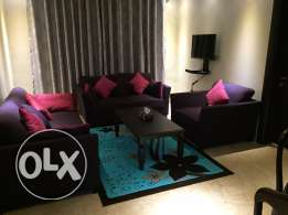 two bedroom fully furnished apartment.