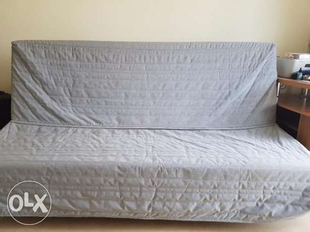 Ikea Bed cum sofa with storage space